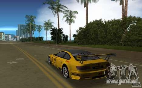BMW M3 GT2 pour une vue GTA Vice City de la gauche