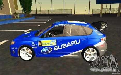 Nouveaux vinyles pour Subaru Impreza WRX STi pour GTA San Andreas moteur