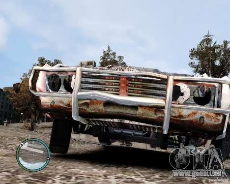 Flatout Shaker IV pour GTA 4 Vue arrière