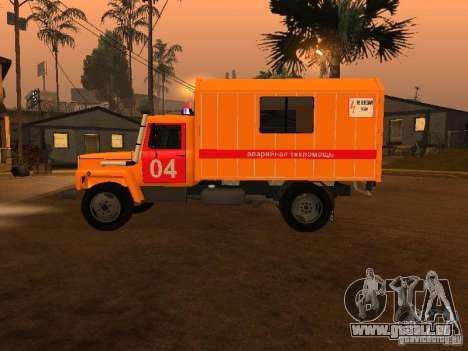 GAZ 3309; für GTA San Andreas linke Ansicht