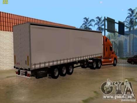 Freightliner Cascadia pour GTA San Andreas laissé vue