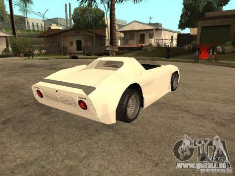Cup Car pour GTA San Andreas vue de droite
