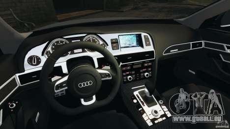Audi RS6 2010 v1.1 pour GTA 4 Vue arrière