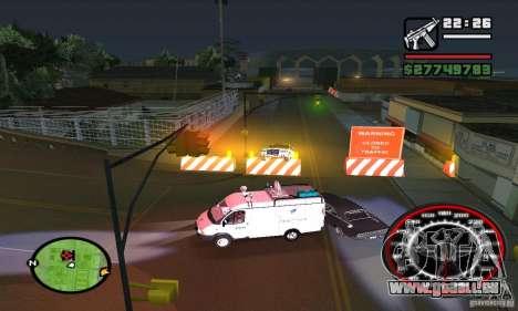 Base GROOVE Street pour GTA San Andreas cinquième écran