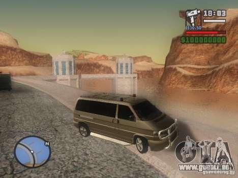 Volkswagen Multivan pour GTA San Andreas