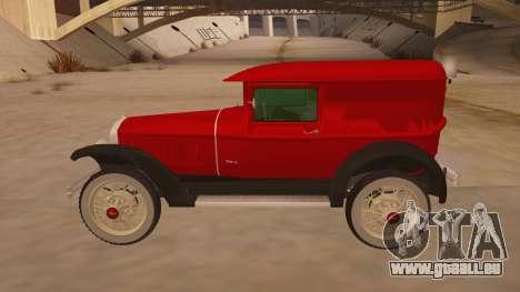 Pearce 1931 pour GTA San Andreas laissé vue