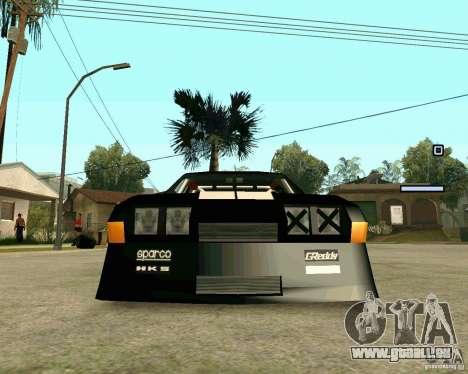 Hotring Racer Tuned pour GTA San Andreas vue intérieure