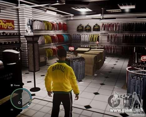 Foot Locker Shop v0.1 für GTA 4 Sekunden Bildschirm