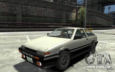 Toyota Sprinter Trueno AE86 pour GTA 4