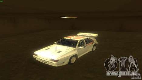 Citroen BX 4TC pour GTA San Andreas