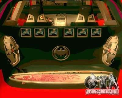 Toyota Yaris für GTA San Andreas zurück linke Ansicht