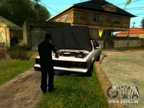 CJ's Freunde im Grove für GTA San Andreas her Screenshot
