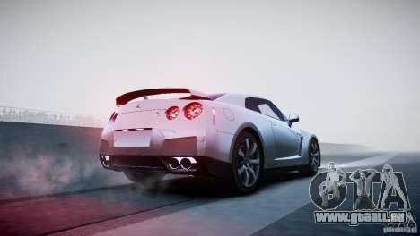 Nissan GT-R R35 V1.2 2010 für GTA 4 Seitenansicht