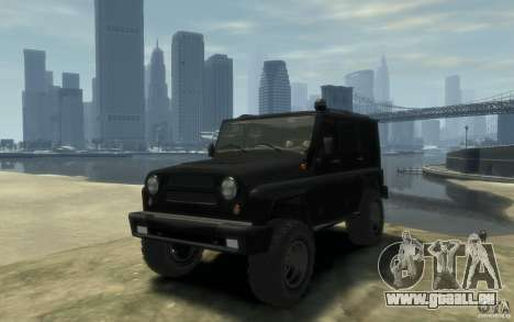 UAZ Hunter final pour GTA 4