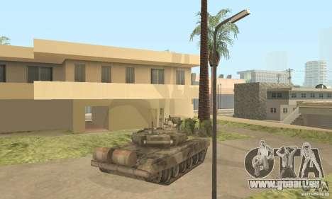 T-90 A pour GTA San Andreas vue arrière