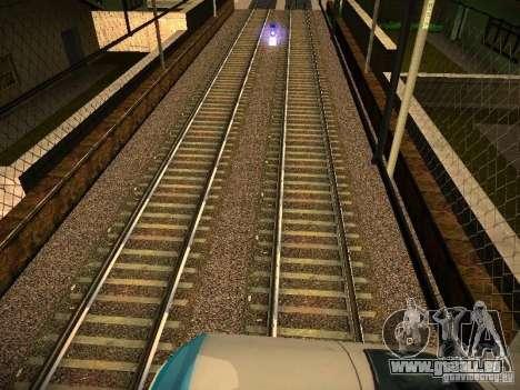 Neue Schienen für GTA San Andreas siebten Screenshot