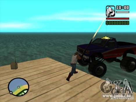 Pêche pour GTA San Andreas troisième écran
