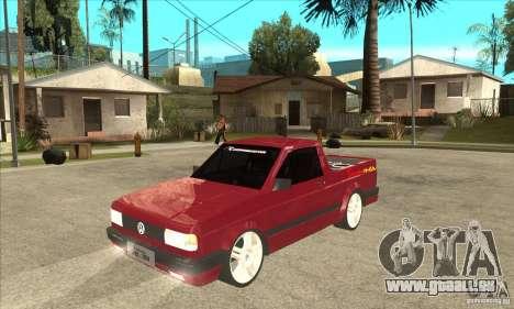 Volkswagen Saveiro Summer pour GTA San Andreas