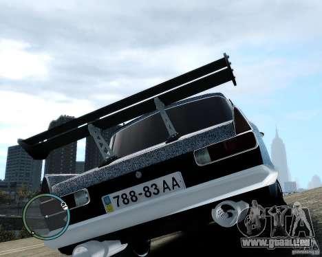 Moskvič 412 Street Racer [Alpha] für GTA 4 Innenansicht