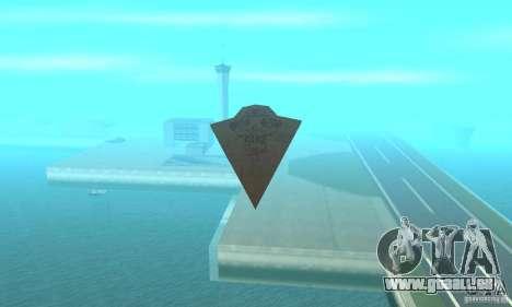 Executor Class Stardestroyer pour GTA San Andreas vue de droite