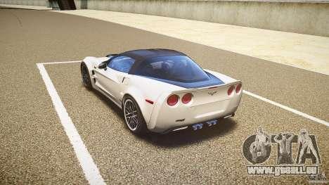 Chevrolet Corvette ZR1 2009 für GTA 4 hinten links Ansicht