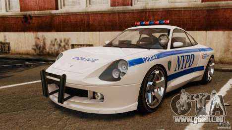 Comet Police für GTA 4