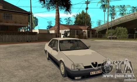 Alfa Romeo 164 für GTA San Andreas Innen