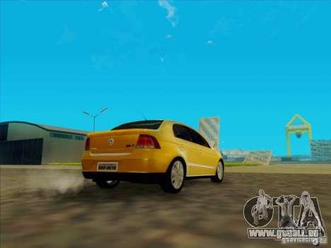 Volkswagen Voyage Comfortline 1.6 2009 für GTA San Andreas zurück linke Ansicht