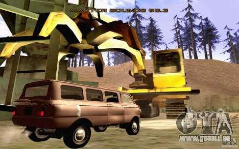 ZAZ 970 für GTA San Andreas Unteransicht