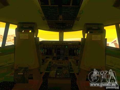 Boeing E-767 pour GTA San Andreas vue de dessous