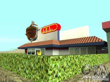 Mc Donalds für GTA San Andreas sechsten Screenshot