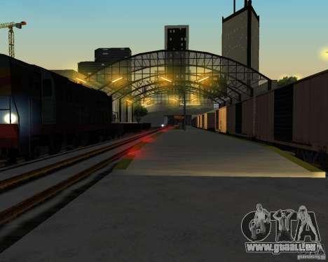 Nouvelle station de chemin de fer pour GTA San Andreas cinquième écran