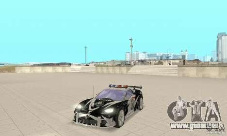 Chevrolet Corvette C6 Rough (NFS MW) pour GTA San Andreas