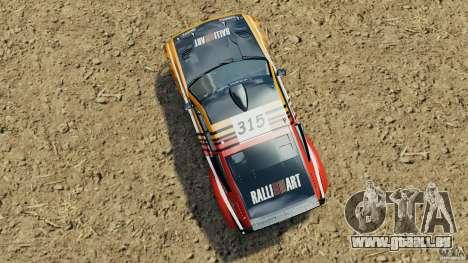 Mitsubishi Pajero Evolution MPR11 für GTA 4 rechte Ansicht