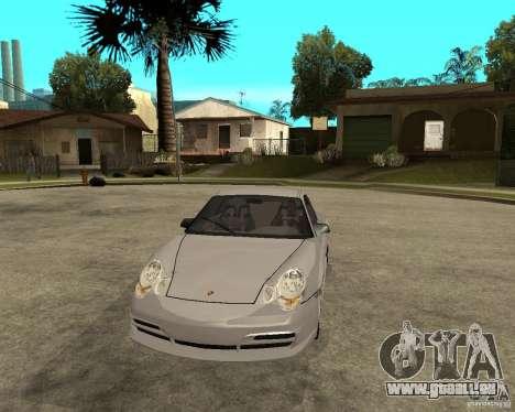 Porsche GT3 pour GTA San Andreas vue arrière