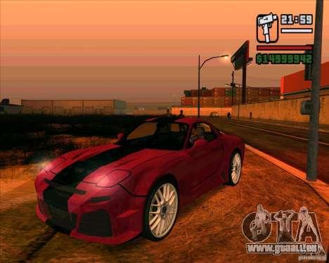 Mazda RX-7 MW pour GTA San Andreas
