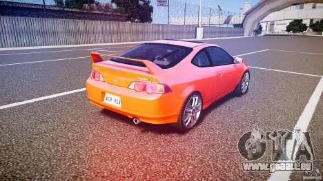 Acura RSX TypeS v1.0 stock für GTA 4 Seitenansicht