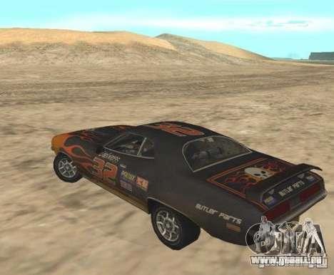 Bullet from FlatOut 2 pour GTA San Andreas laissé vue
