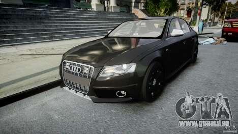 Audi S4 Unmarked [ELS] pour GTA 4