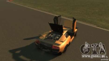 Lamborghini Murcielago VS LP 670 FINAL pour GTA 4 vue de dessus