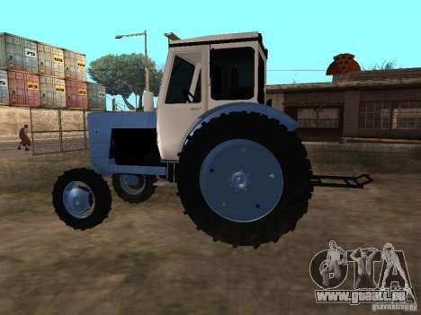 MTZ 52 pour GTA San Andreas laissé vue
