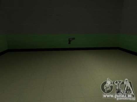 L'entrée de la zone de police à San Fierro pour GTA San Andreas sixième écran