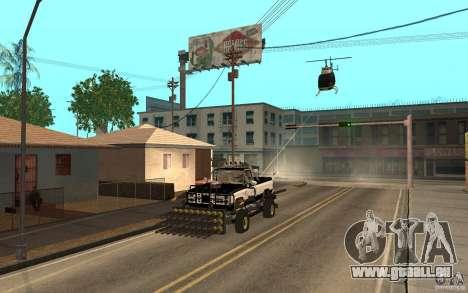 Chevrolet Hunter pour GTA San Andreas vue arrière