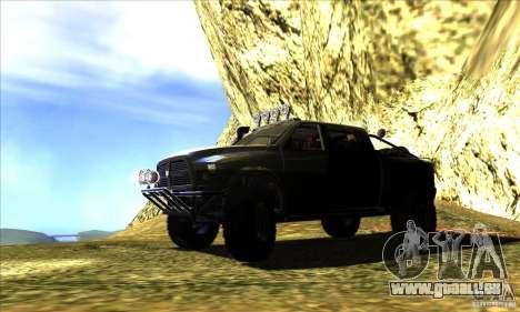 Dodge Ram All Terrain Carryer für GTA San Andreas linke Ansicht
