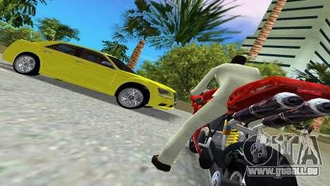 Lancia Nuova Thema pour une vue GTA Vice City de l'intérieur