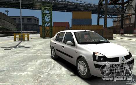 Renault Clio 1.4L für GTA 4 Rückansicht