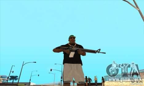 WEAPON BY SWORD pour GTA San Andreas troisième écran