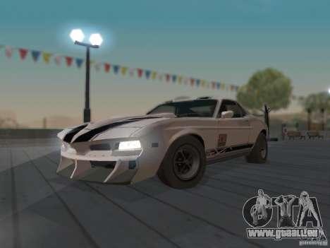 SPEEDEVIL from FlatOut 2 pour GTA San Andreas vue intérieure