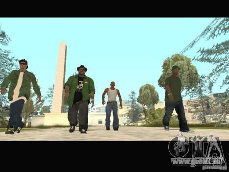 Family Skins Pack pour GTA San Andreas