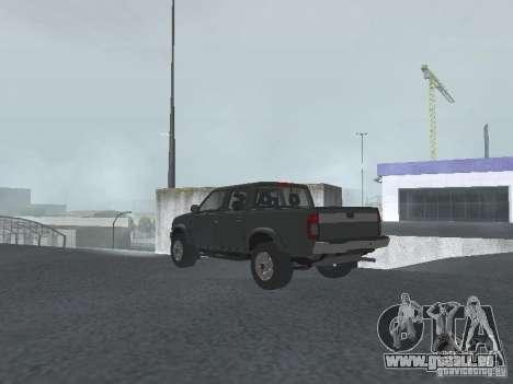 Nissan Frontier für GTA San Andreas linke Ansicht